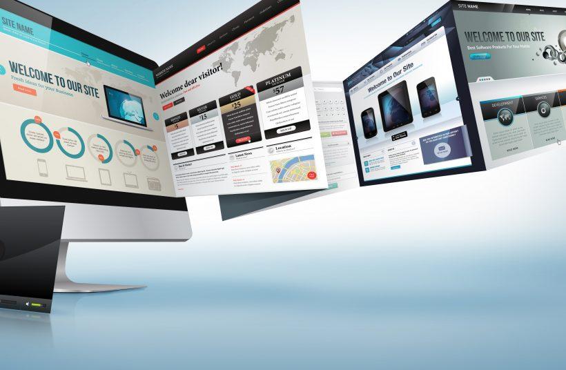 website design for financial advisors