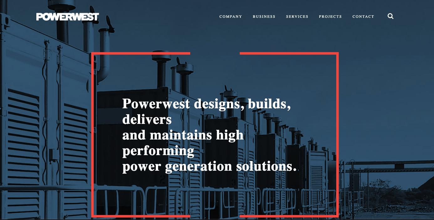 b2b tech website example
